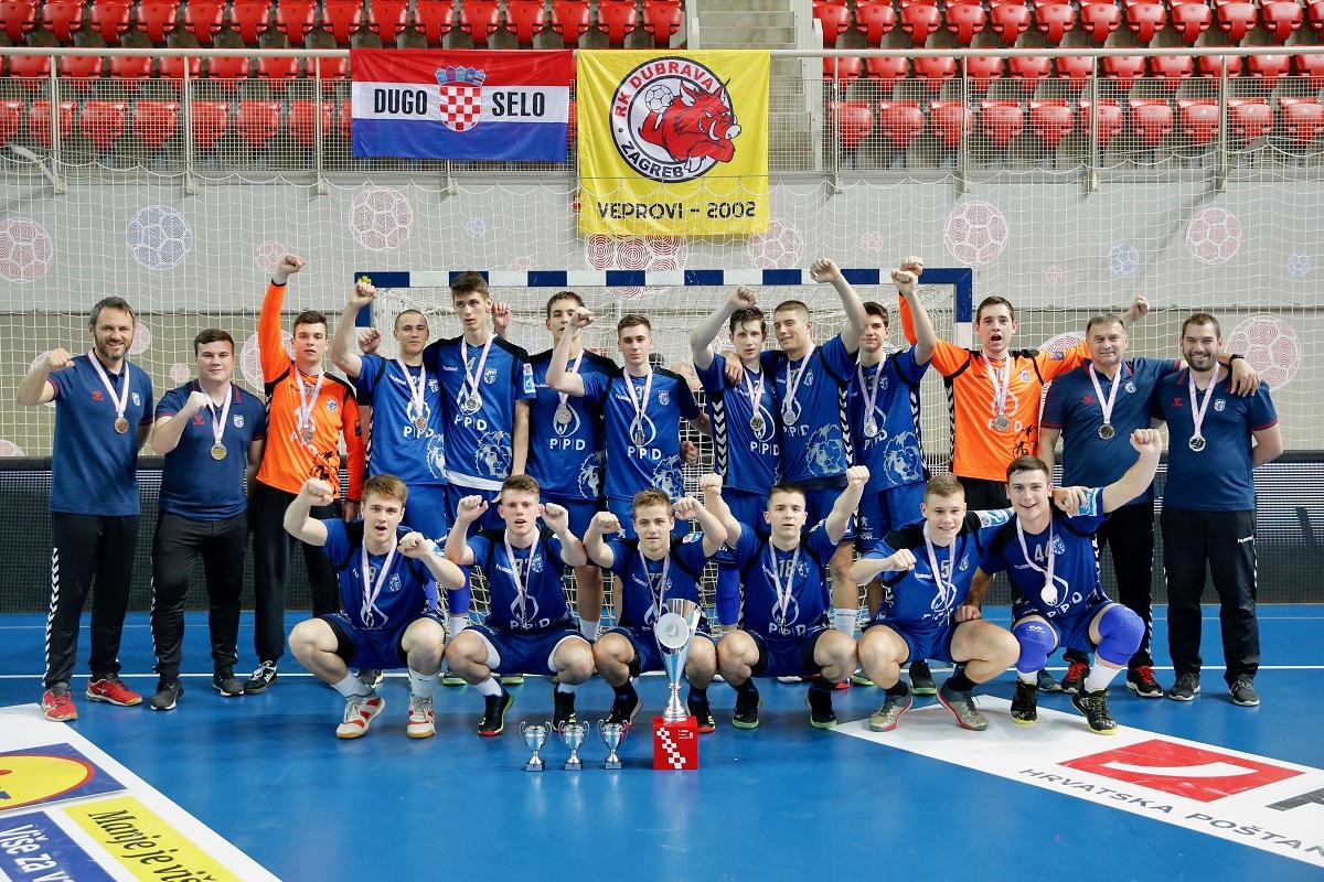 Kadeti PPD Zagreba osvojili drugo mjesto na završnici prvenstva Hrvatske!