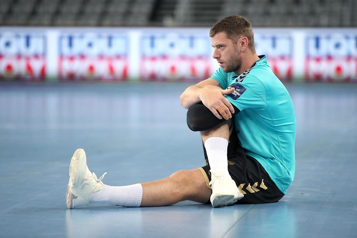 Pixsell: Zagrijavanje prije početka utakmice 1. kola EHF Lige prvaka između PPD Zagreba i THW Kiela