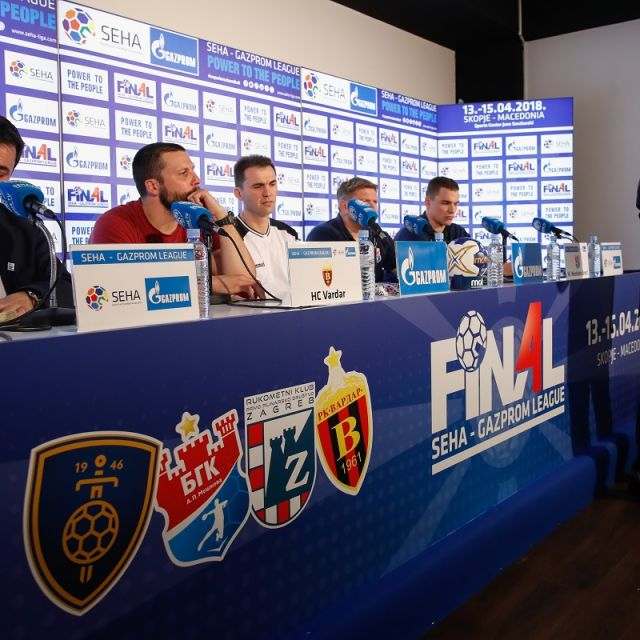 Uvodna press konferencija Final Four turnira SEHA Gazprom lige!