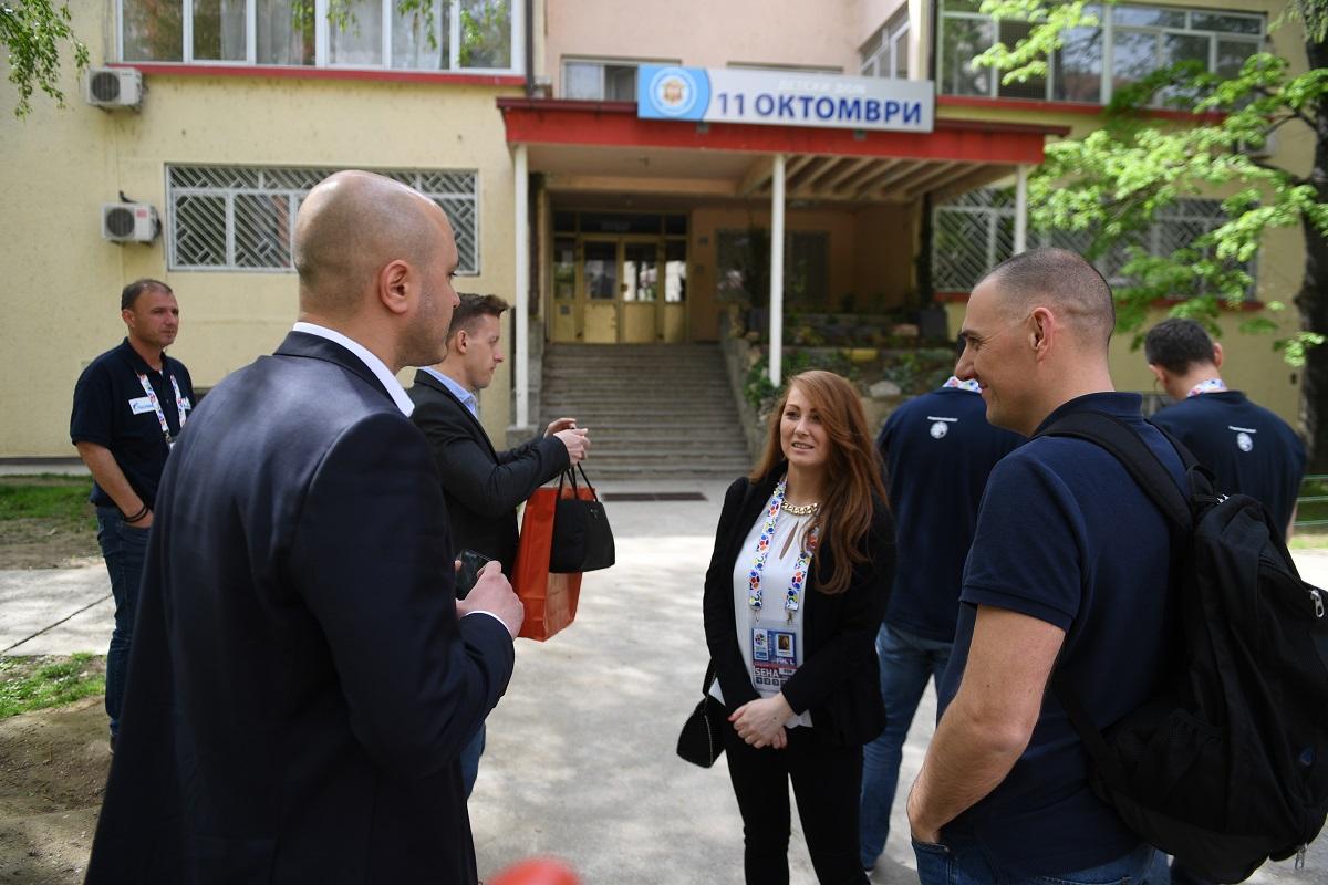 SEHA Gazprom liga donirala kuću za nezbrinutu djecu u Skopju